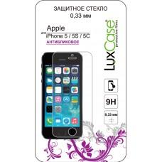 Защитное стекло Luxcase для iPhone SE/5/5C/5S (матовое)